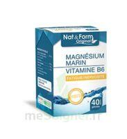 Nat&Form Expert Magnésium+Vitamine B6 Gélules B/40 à Poitiers