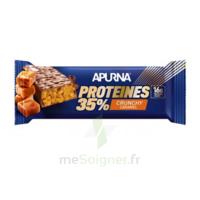 Apurna Barre hyperprotéinée crunchy caramel 45g à Poitiers