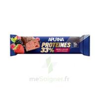 Apurna Barre hyperprotéinée moelleuse fruits rouges 45g à Poitiers