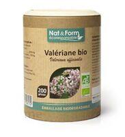 Nat&Form Eco Responsable Valériane Bio Gélules B/200 à Poitiers