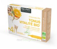 Nat&Form Ampoules Solution buvable Tonus Vitalité Bio 20 Ampoules/10ml à Poitiers