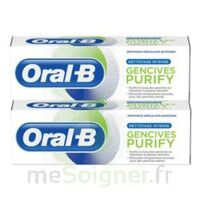 Oral B Gencives Purify Dentifrice 2*T/75ml à Poitiers