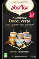 Yogi Tea Tisane Assortiment Découverte Bio 18 Sachets/1,9g à Poitiers