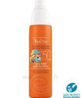 Avène Eau Thermale Solaire Spray Enfant 50+ 200ml à Poitiers