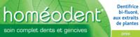Boiron Homéodent Soin Complet Dents et Gencives Pâte Dentifrice Anis 2T/75ml à Poitiers