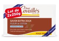 Rogé Cavaillès Savon Solide Surgras Extra Doux Fleur De Coton 2x250g à Poitiers