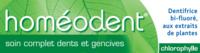 Boiron Homéodent Soin Complet Dents et Gencives Pâte Dentifrice Chlorophylle 2T/75ml à Poitiers