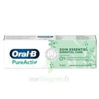 Oral B Pureactiv Dentifrice Soin Essentiel T/75ml à Poitiers