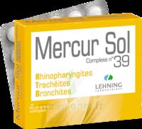Lehning Mercur Sol Complexe N°39 Comprimés Sublinguals B/60 à Poitiers