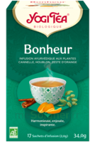 Yogi Tea Tisane Ayurvédique Bonheur Bio 17 Sachets/1,8g à Poitiers