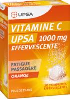 VITAMINE C UPSA EFFERVESCENTE 1000 mg, comprimé effervescent à Poitiers